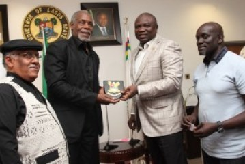 ENTERTAINMENT: Ambode Names Danny Glover As Brand Ambassador For Lagos