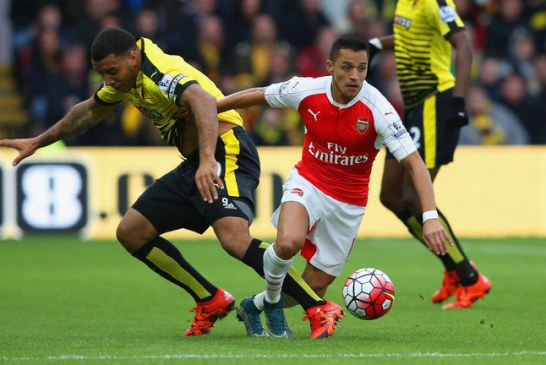 Watford 0-3 Arsenal: Alexis Sanchez stars for Arsenal in three-goal victory