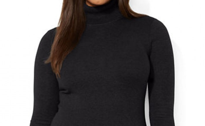 Should You Wear a Turtleneck If You're Busty?