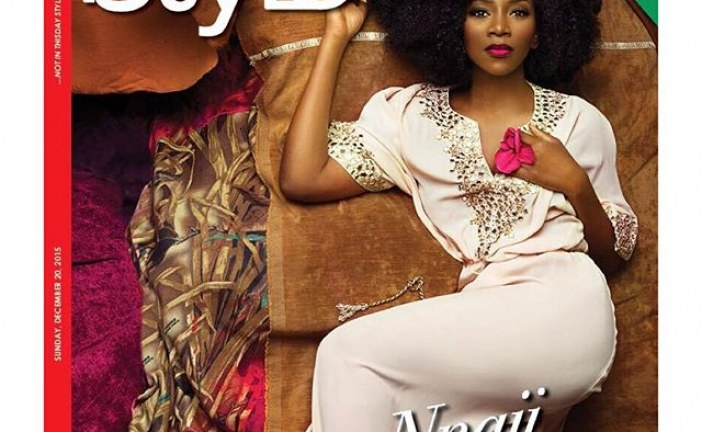 Genevieve Nnaji cover December Edition of Style magazine