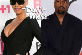 Amber Rose Replies Kanye West For Calling Her Out During His Rant Against Wiz Khalifa