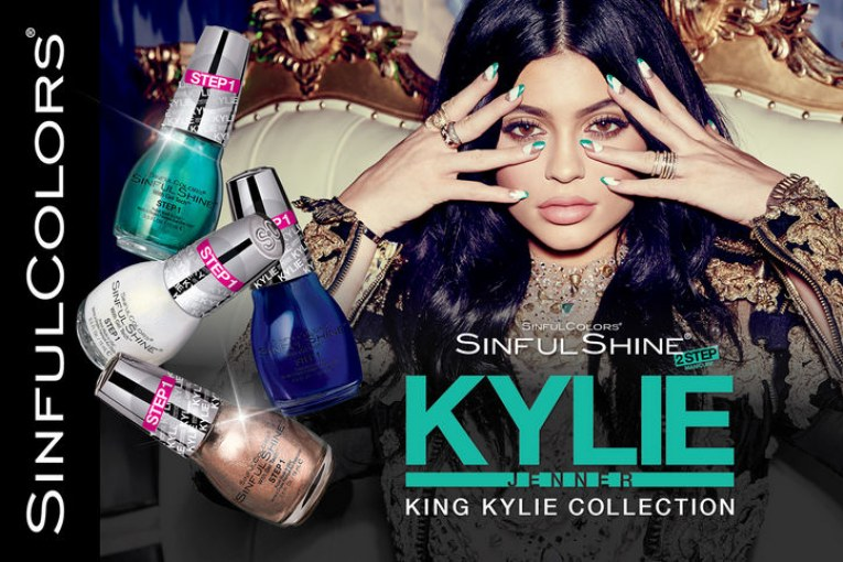 kylie-jenner sinful colours nail polish
