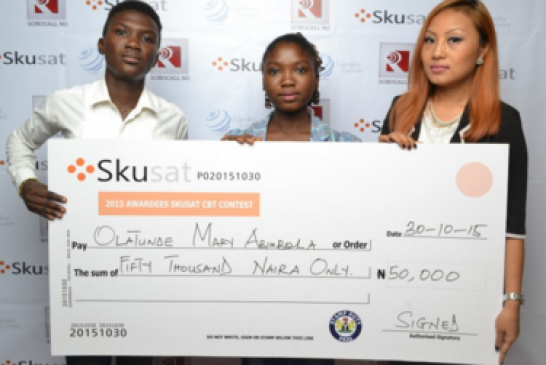 Apply for 2016 Skusat CBT Contest for Undergraduate worth N300, 000