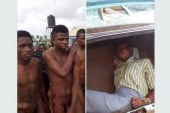 Yahoo Boys Caught While Attempting to use a girl for Ritual