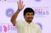 Manny Pacquiao Wins Seat in Philippines Senate