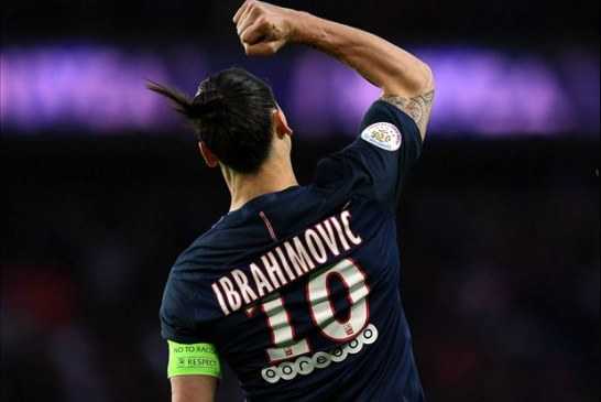 Ibrahimovic sets new goal record in his final league game for Paris Saint-Germain