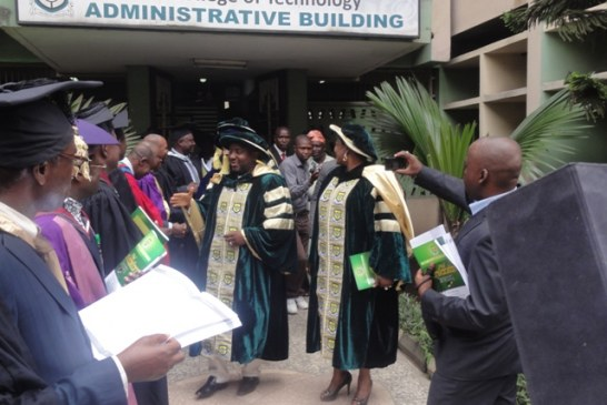 YABATECH Awards HND and ND Certificates to students.