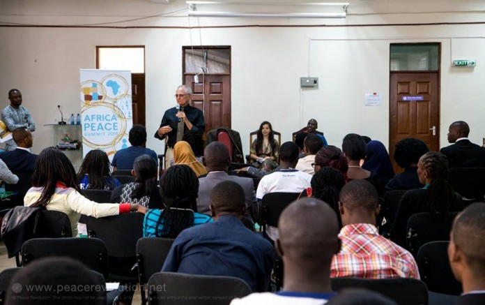 African Students Brainstorm Suggest Solutions to Conflicts at African Peace Summit