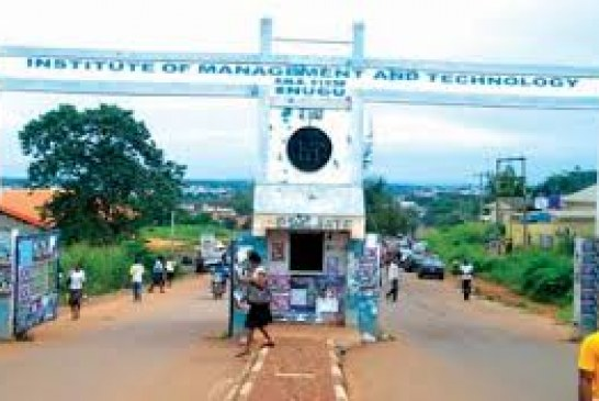 Security Operatives Takeover IMT Enugu, as Students Protest Fee Hike