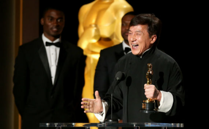 After 56 years & 200 Movies Jackie Chan Receives An Honorary Oscar