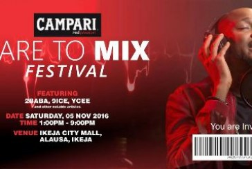 2baba And Other Top Celebrities Set To Shut Down Ikeja For Campari Dare to Mix Cocktail Festival
