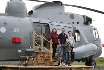 Photos: Royal Helicopter Converted Into An Exquisite Home
