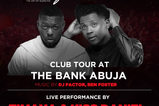 Hennessy Artistry Club Tour with Timaya and Kiss Daniel at the Bank Abuja
