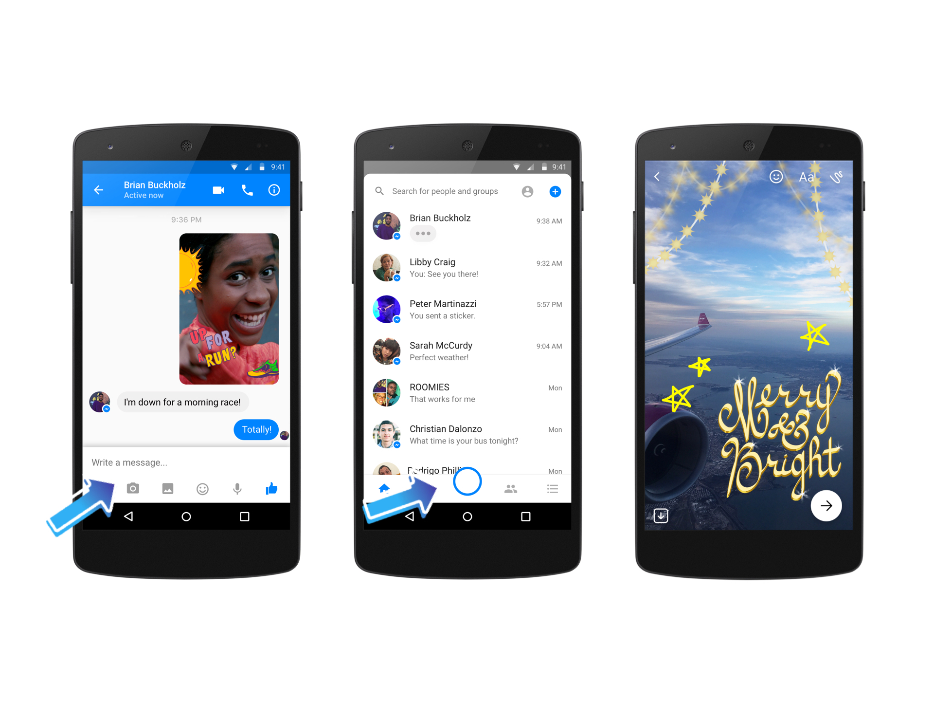 Facebook Messenger announces the global launch of a new powerful native camera
