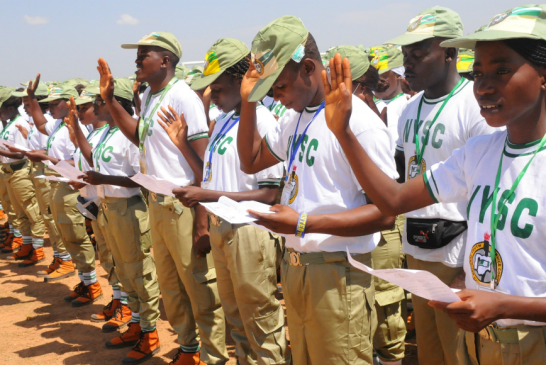 NYSC female member rocks skirt because 'trousers is a sin'