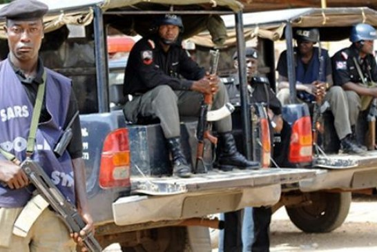 Police apprehend 27-year-old lady with 16 children