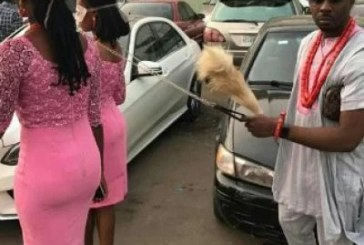 Lagos Club Owner Pretty Mike Arrested for putting girls on leash