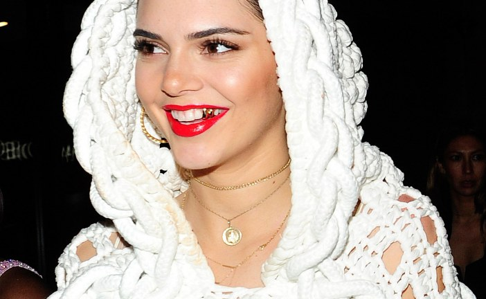 Kendall Jenner and Her Gold Tooth