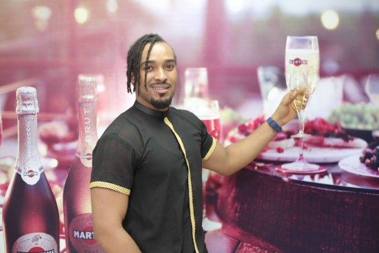 Prolific Actor And Former Mr. Nigeria, Bryan Okwara Renewed His Contract With Martini