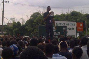 Ogun students embark on mass protest