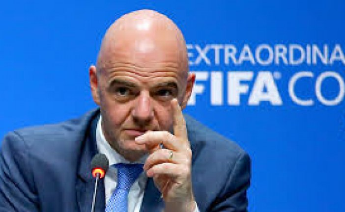 FIFA president Gianni Infantino 'not concerned' about hooligan threat at Russia 2018 World Cup