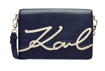 Karl Lagerfeld's New Accessories Line Features the Shoulder Bag of Our Dreams