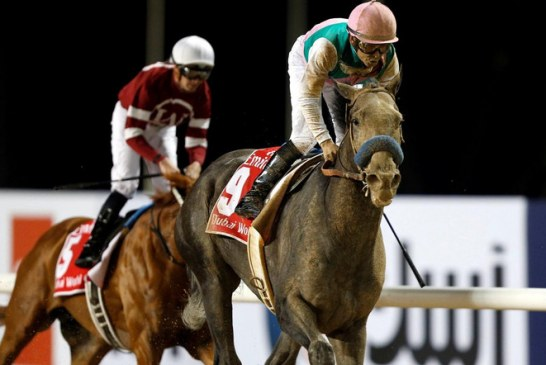 The world's number one-rated racehorse Arrogate recovered from a poor start to win the $10m Dubai World Cup as Jack Hobbs wins $6m Classic