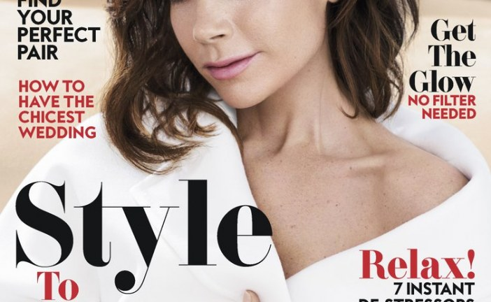 Victoria Beckham Covers April Edition of Instyle Magazine