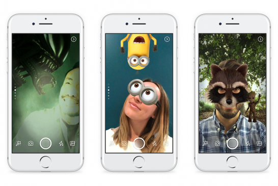 """Facebook rolls out new photo and video sharing feature """"Facebook Camera"""""""