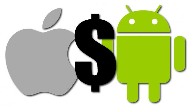 Android could overtake Apple in overall app sales this year