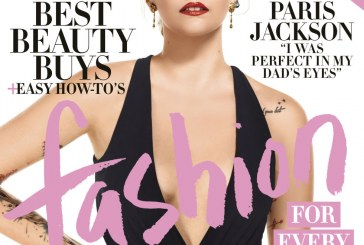 Paris Jackson Covers April Edition of Harper's Bazaar Magazine..