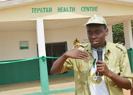 Youth Corper renovates dilapidated Health Centre