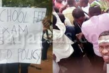 ESUT Students protests over no school fees no exam policy