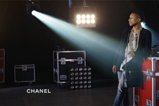 Pharrell Williams Featured in Chanel Handbag Campaign