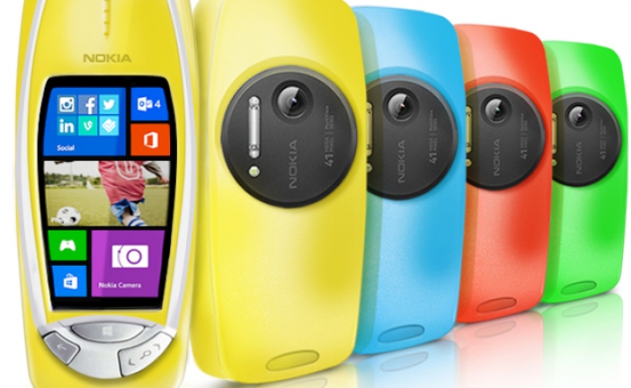 Nokia 3310 Relaunch Heritage, with powerful PureView imaging capabilities