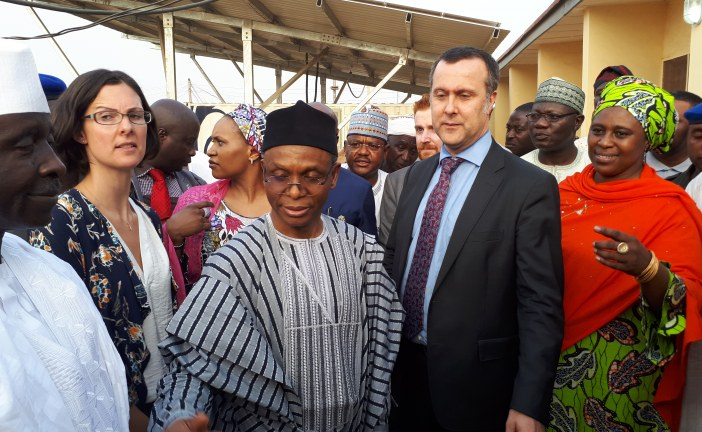 Gov. Elrufai Applauds UK Govt, Inspects DFID Renovated Solar Powered PHC in Badarawa