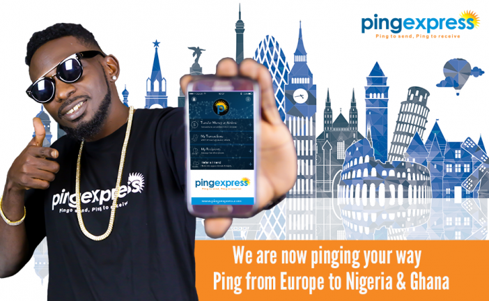 Ping Express expands money transfer services to Europe and unveils May D as its Ambassador