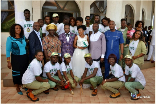 Corpers who got married during NYSC welcome 'Bundle of Joy'