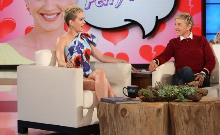 Katy Perry speaks on Shaved Head, Champions 'Consensual Interaction' on 'Ellen'