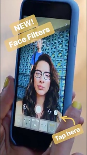 Instagram Launches Snapchat-like 'Face Filter'