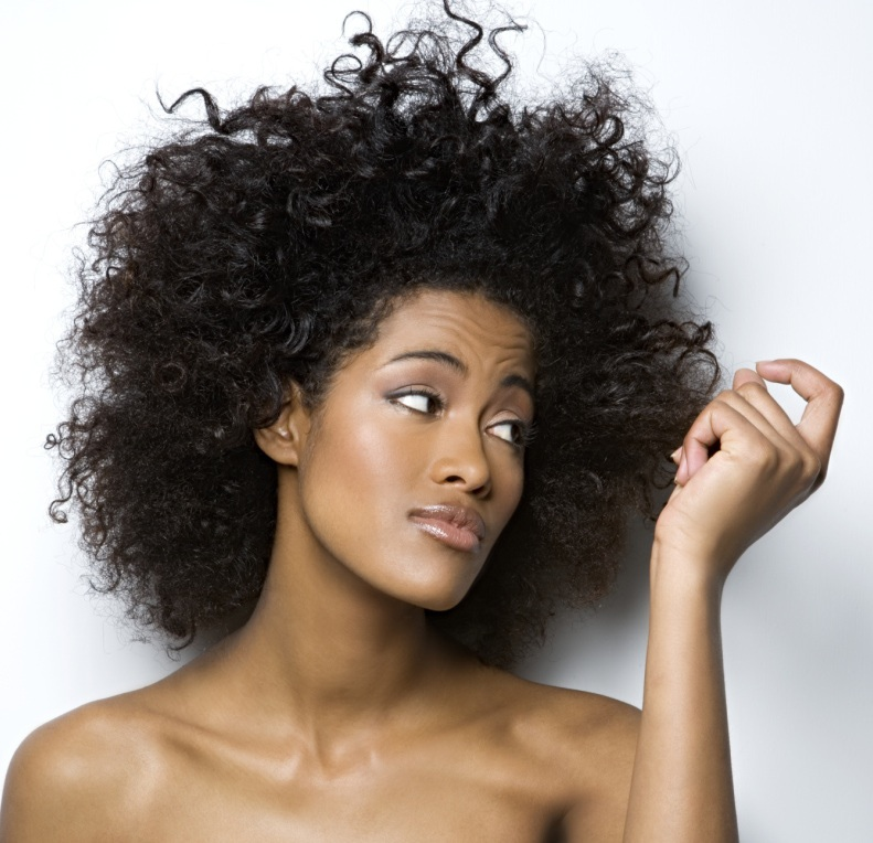 How to Deal With Frizzy, Puffy Hair
