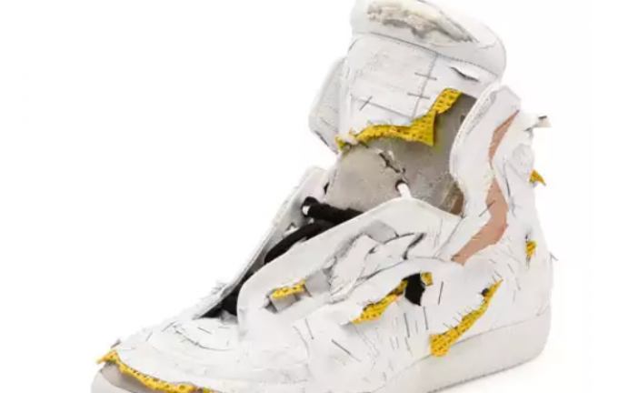 Neiman Marcus Is Selling Destroyed High-Top Sneakers for $1,425