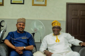 Saidi Balogun receives special honour from Oyo Government