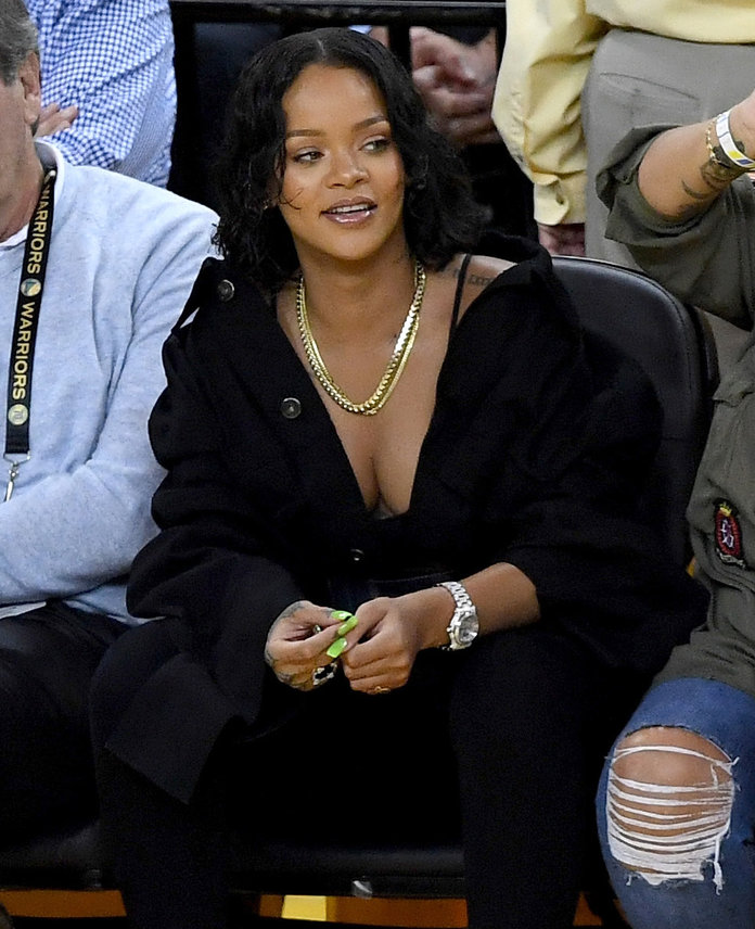 Rihanna Stole the Show During the NBA Finals Game