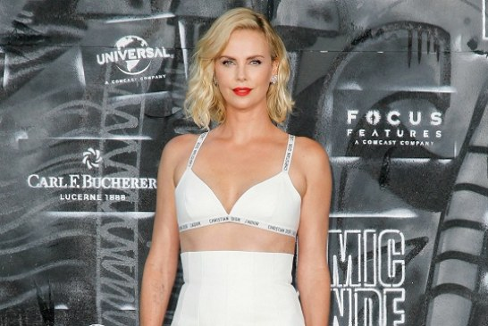 Charlize Theron Hit the Red Carpet in Just a Bra at the Atomic Blonde Premiere in Berlin