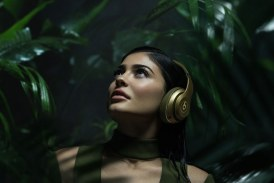 Kylie Jenner stars in the Balmain Headphones Design Ads for Beats by Dr. Dre