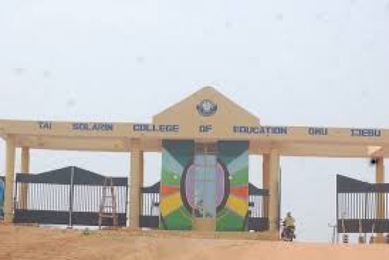Tai Solrin College of Education sets to commence degree programme