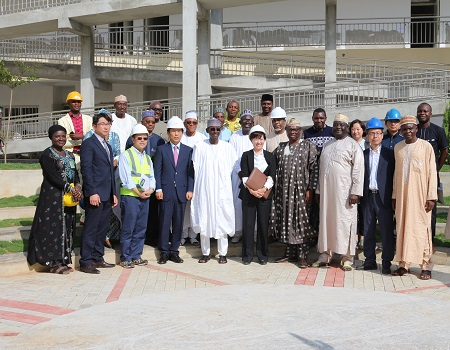 FCT minister visits Korea's Abuja school project site