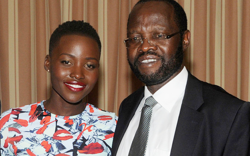 Lupita Nyong'o writes emotional post to her father as he's sworn in as governor