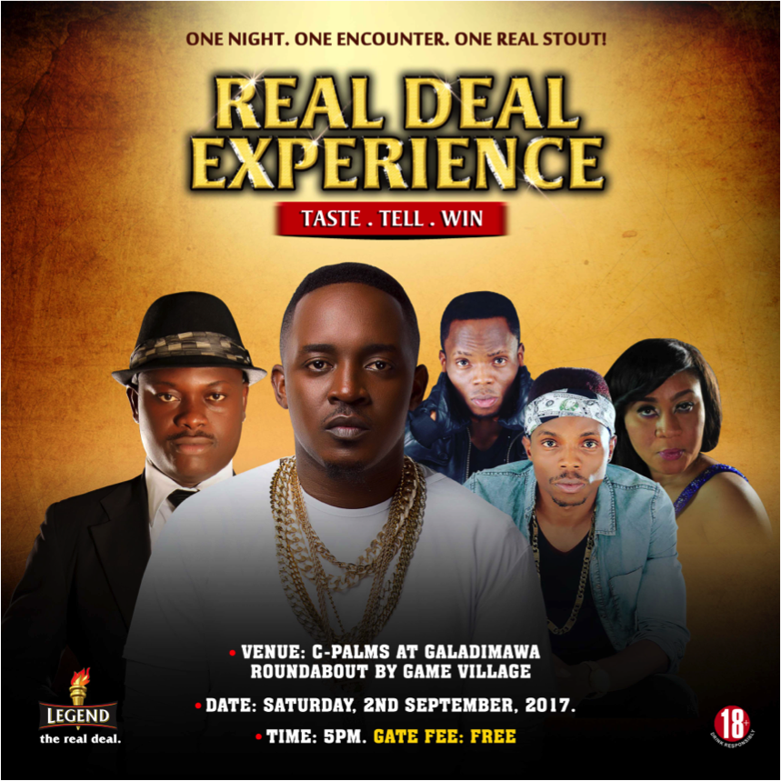 M.I Abaga headlines Legend Extra Stout real deal experience music tour in Abuja